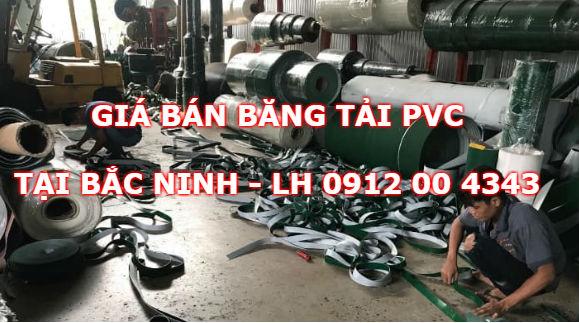 Giá bán băng tải PVC tại Bắc Ninh