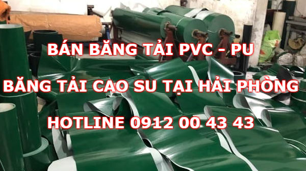 Băng tải PVC tại Hải Phòng