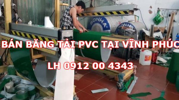Bán băng tải PVC tại Vĩnh Phúc