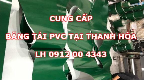 Cung cấp băng tải PVC tại Thanh Hóa