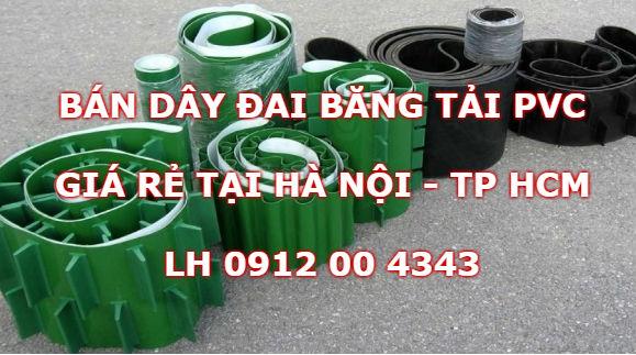 Day đai băng tải PVC