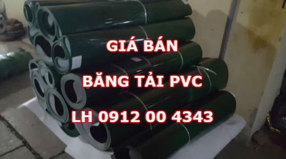 Giá bán băng tải PVC